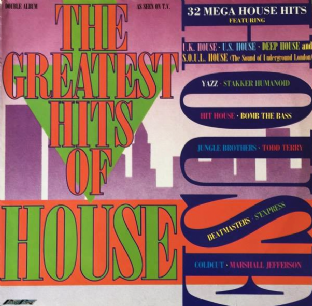 V/A - The Greatest Hits Of House (LP) (G-VG/VG-)
